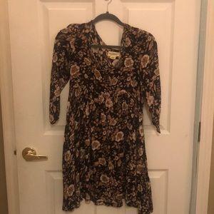 Denim & Supply Ralph Lauren brown floral dress
